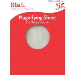 Stat Magnifying Sheet 280x210mm