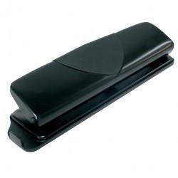 Marbig 3 Hole Punch Metal 10 Sheet Capacity Black
