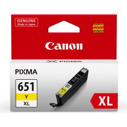 Canon CLI651XL Ink Cartridge High Yield Yellow