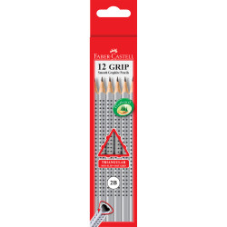 Faber-Castell 2001 Eco Grip Pencil Triangular Grip 2B
