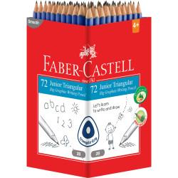 Faber-Castell 2001 Eco Grip Pencil Triangular Junior Grip 2B