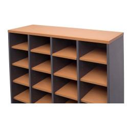 Rapidline Pigeon Hole Unit Additional Shelf Only Beech