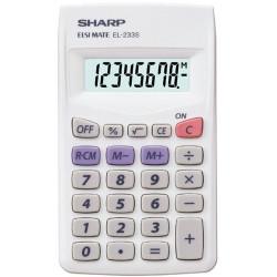 Sharp EL-233B Pocket Calculator 8 Digit