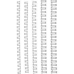 GBC Wire Binding Combs 21 Loop 10mm Pack 100 Black