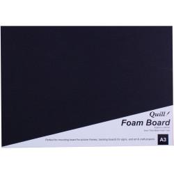 Quill Foam Board A3 Black
