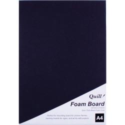 Quill Foam Board A4 Black