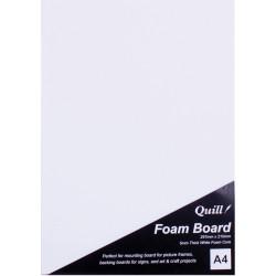 Quill Foam Board A4 White