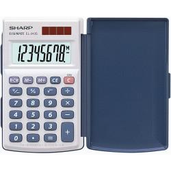 Sharp EL-243S Pocket Calculator 8 Digit