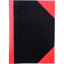 Cumberland Black & Red Notebook Gloss A6 100 Leaf
