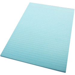 Quill Ruled Colour Bond Pad A4 70 Leaf Blue