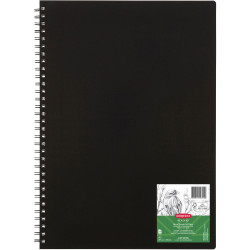 Derwent Academy Visual Art Diary A3 120 Page Portrait Black
