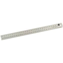 Marbig Metal Ruler 600mm Stainless Steel