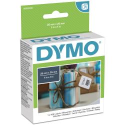Dymo 30332 Labelwriter Labels 25mmx25mm Multi-purpose White Box of 750