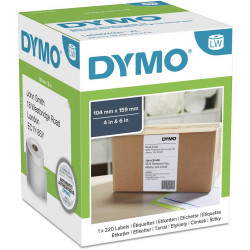 Dymo SD0904980 Labelwriter High Capacity XL Shipping Label 104x159mm Box of 220