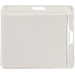 Rexel ID Pouches ID Card 2 Way Landscape or 105x90mm Portrait Pack Of 10
