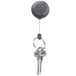 Rexel Key Card Holder Retractable Mini Black