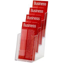 Esselte Brochure Holders Dl 4 Tier Free Standing
