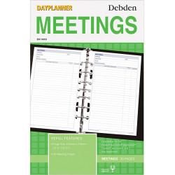 Debden Dayplanner Refill Meetings 216X140Mm