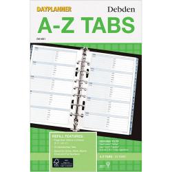 Debden Dayplanner Refill A-Z Tabs 216X140Mm