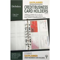 Debden Dayplanner Refill Credit Card Holder 216X140Mm