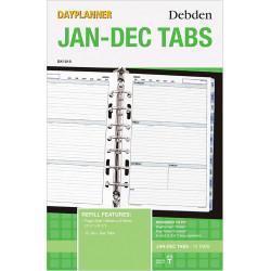 Debden Dayplanner Refill Jan-Dec Tabs 216X140Mm